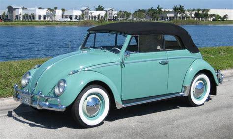 volkswagen green green 1962 volkswagen beetle convertible aucton results