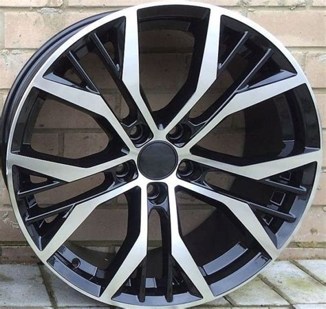 volkswagen golf 7 vii r 19 quot santiago aluminium wheels rims set genuine new ebay