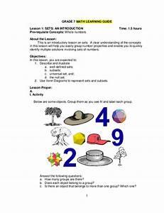 Gr  7 Math Lm  Q1 To 4