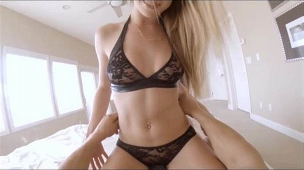 #Pov #Blonde'S #Sexy #Lingerie #Taken #Off #As #She #Gets #Fucked