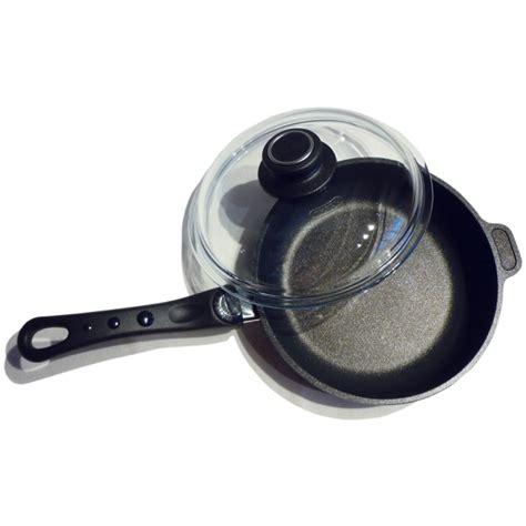 pan titanium egg frying perfect germany lid warp won stick non