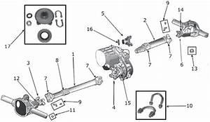 Jeep Cj Series Drive Shaft Parts