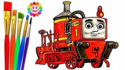 Thomas Friends Engine Draw Edward
