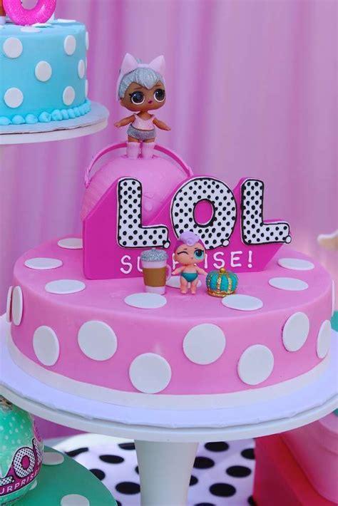 risultati immagini  lol surprise doll birthday cake
