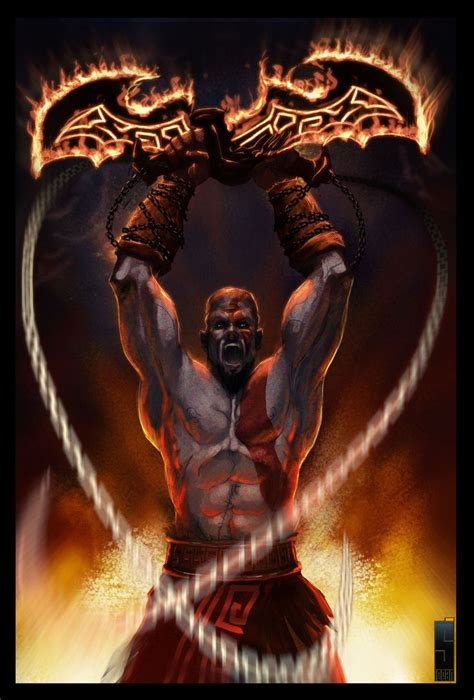 132 Best Images About Kratos The God Of War On Pinterest