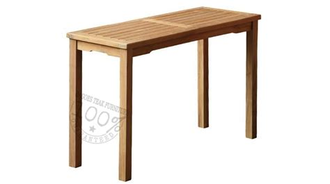simple factual statements  teak outdoor furniture