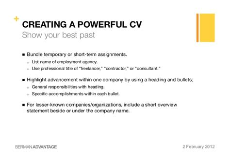 Rã Sumã Pitch by Creating A Powerful Cv Cover Letter