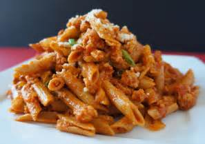 Spicy Penne Pasta with Chicken