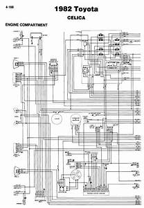 Toyota Celica 1982 Wiring Diagrams