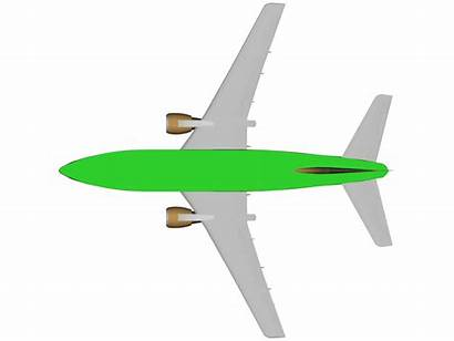 Fuselage 737 Boeing Shown Brown