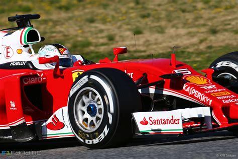Sebastian vettels 2016er ferrari hört auf den namen 'margherita'. Sebastian Vettel, Ferrari, Circuit de Catalunya, 2016 · F1 Fanatic