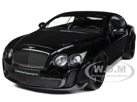 Bentley Continental Supersports Black 1/18 Diecast Model