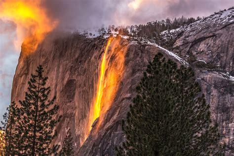 The Secret Firefall Yosemite National Park