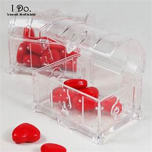 free shipping 10pcs clear wedding favor boxes wedding With clear wedding favor boxes
