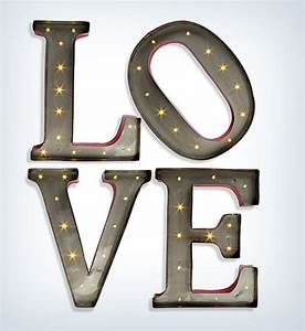 25 most interesting valentines day 2017 gifts ideas With led letter wall decor