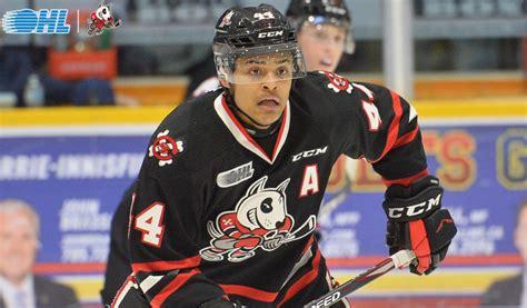 IceDogs name Akil Thomas captain – Ontario Hockey League ...