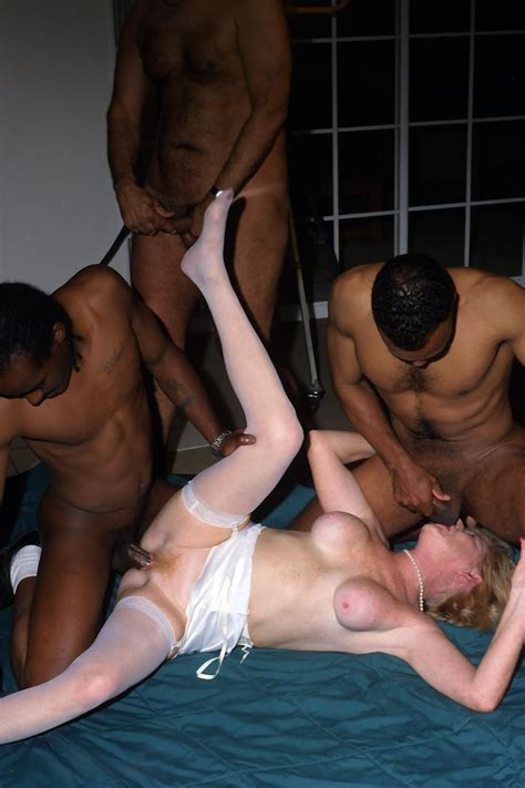 sex starved granny involved in hardcore interracial orgy action pichunter