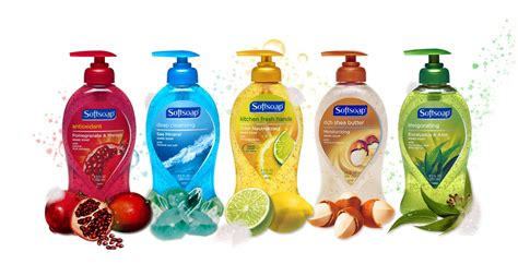 stock   softsoap hand soap    bottle