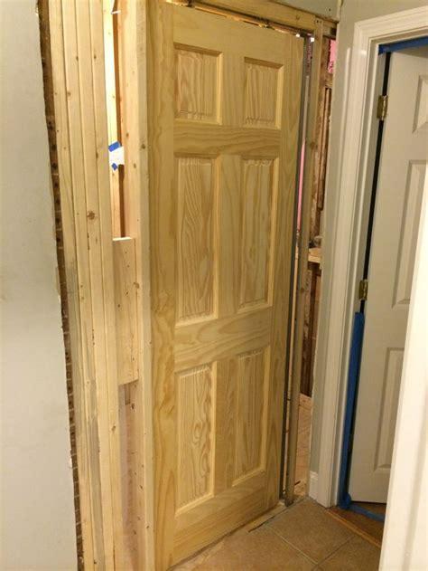 pocket door installation porterhouse bathroom remodel