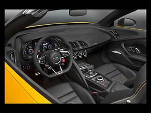 2017 Audi R8 Spyder V10 - Interior - 3 - 1024x768 - Wallpaper