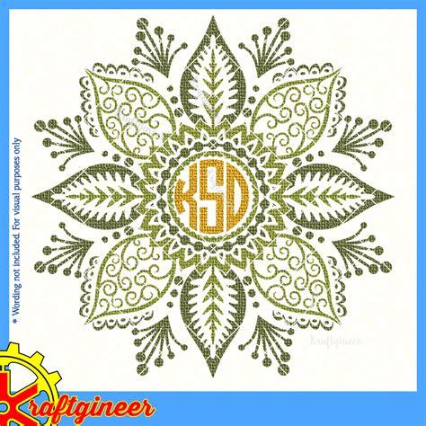 We have a huge range of svgs products available. Frames SVG   Easy Mandala Flower SVG, DXF, EPS, Cut File ...