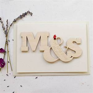 personalised entwined letters anniversary wedding card by With personalised letters for weddings