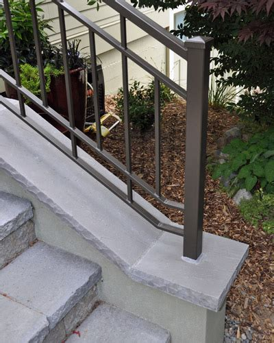 stairs  railing projects ventana construction seattle