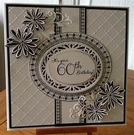 60th Birthday Handmade Card Ideas