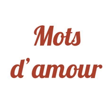 mots d amour mots amour