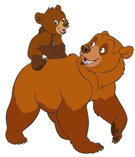 Walt Disney Characters Images Disney Clipart Wikki Brother Bear