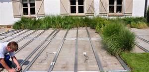 terrassenbau planung vorbereitung inoutic With garten planen mit balkon holzbelag unterkonstruktion