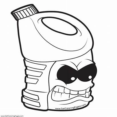 Gang Grossery Coloring Pages Printable Colouring Getcoloringpages
