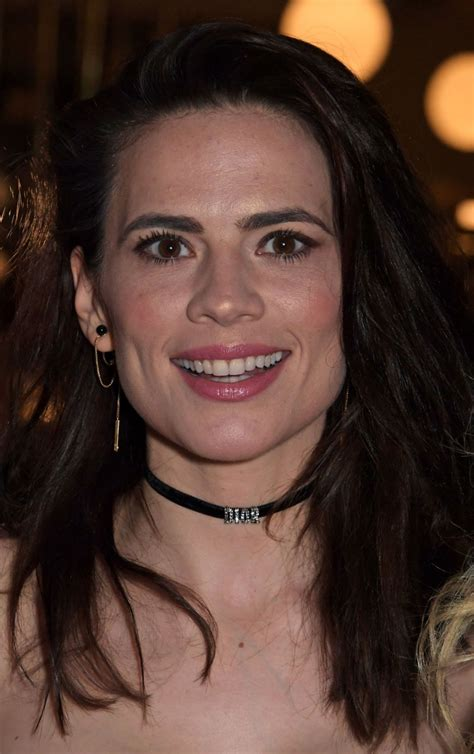 hayley atwell  rosmersholm press night party  london