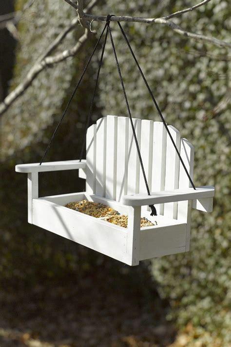 outdoors hanging chair bird feeder outdoors bird