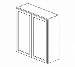w3336b ice white shaker wall cabinet ice white shaker With kitchen colors with white cabinets with trump bumper sticker free