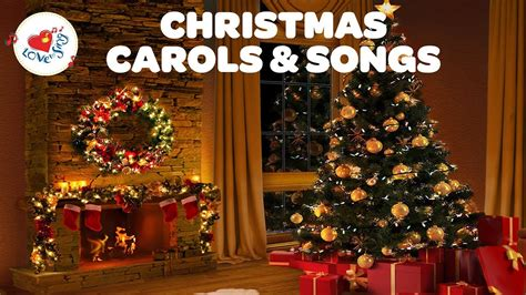 christmas fireplace songs and carols playlist merry christmas 2018 youtube