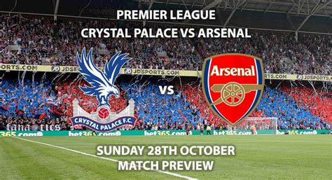 Crystal Palace vs Arsenal - Match Preview | Betalyst.com