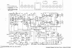 Silvertone 1474 Service Manual Free Download  Schematics