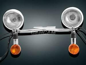 Passing Turn Signal Light For Kawasaki Vulcan Vn 750 800