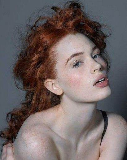 Redhead Portrait Faces Woman Freckles Skin Ginger