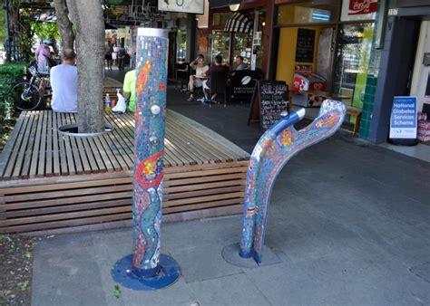 annandale village shops street furniture australia