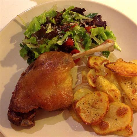 deux cuisses de canard confites slimane foie gras halal