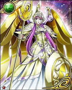Kami Athena ~ in armor | Saint Seiya Galaxy Card ...