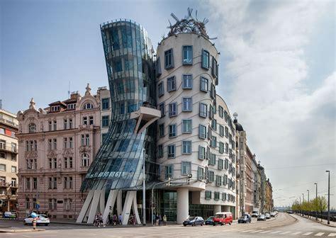Dancing House, A Unique Architecture Building In Prague, Czech Republic