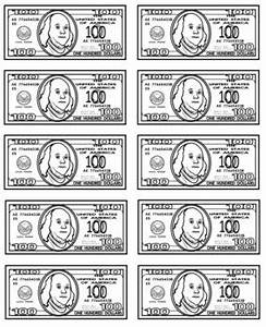 classroom economy jobs bucks label your money With classroom bucks template