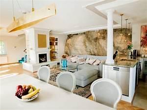 Cuisine Ouverte Sur Salon : salon cuisine ouverte information with salon cuisine ~ Dallasstarsshop.com Idées de Décoration
