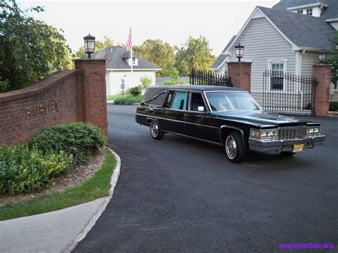 1977 Cadillac S&S Victoria Hearse   Hearse for Sale