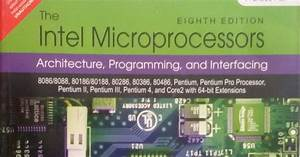 Solution Manual Of Intel Microprocessor Barry B Brey 8th