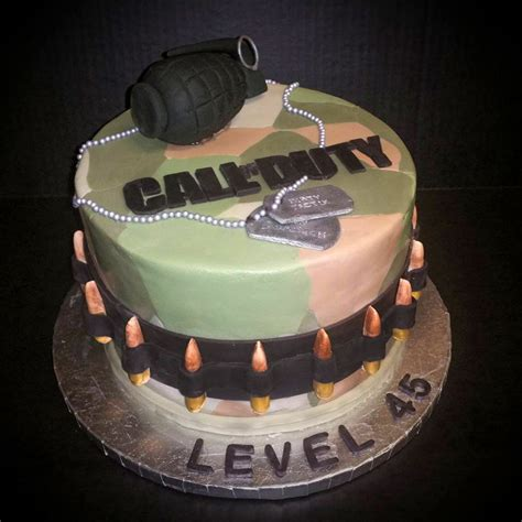 call of duty cake call of duty birthday cake cakecentral