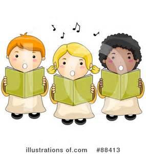 Choir Singing Clip Art Free